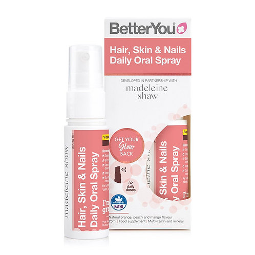 BetterYou Hair Skin and Nails Oral Spray - 25ml