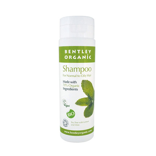 Bentley Organic Shampoo for Normal to Oily Hair - 250ml