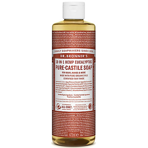 Dr Bronner's Pure Castile Liquid Soap - Eucalyptus - 473ml