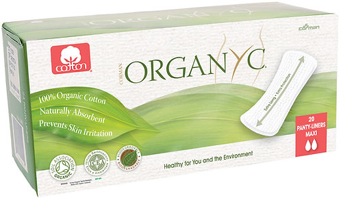 Organyc Panty Liner Extra Long - 20 Liners