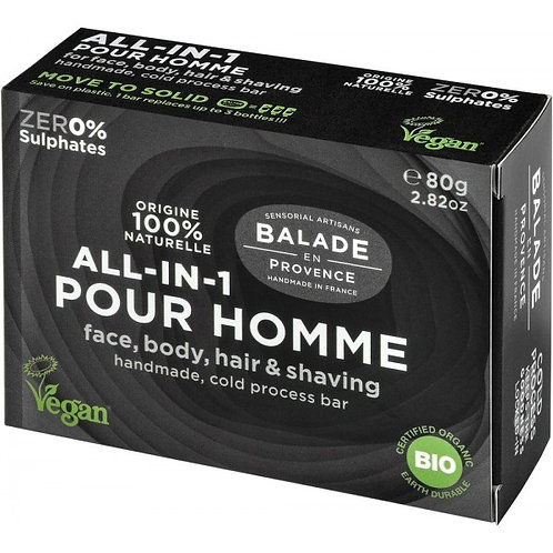 Balade En Provence All in One for Men Soap Bar - 80g
