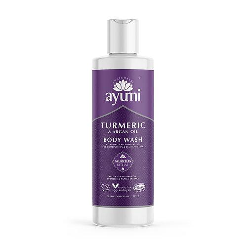 Ayumi Turmeric & Argan Body Wash - 250ml