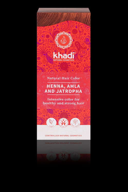 Khadi Natural Hair Colour Henna, Amla & Jatropha