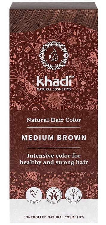 Khadi Natural Hair Colour Medium Brown