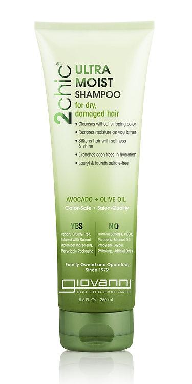 Giovanni Ultra Moist Shampoo - 250ml