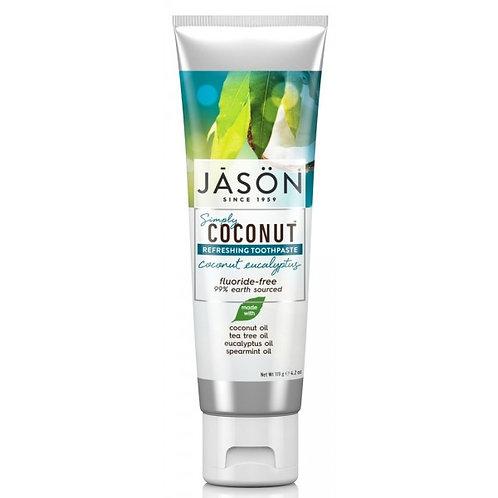 Jason Simply CoconutRefreshing Toothpaste Coconut Eucalyptus