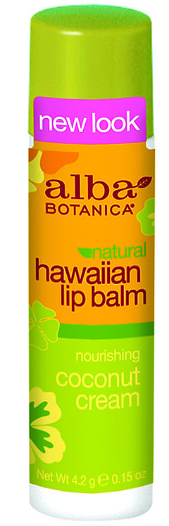 Alba Botanica Hawaiian Lip Balm Coconut Cream