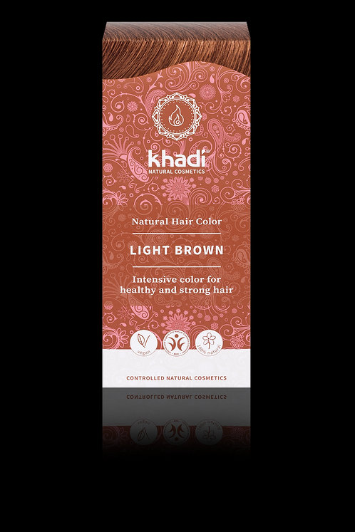Khadi Natural Hair Colour Light Brown