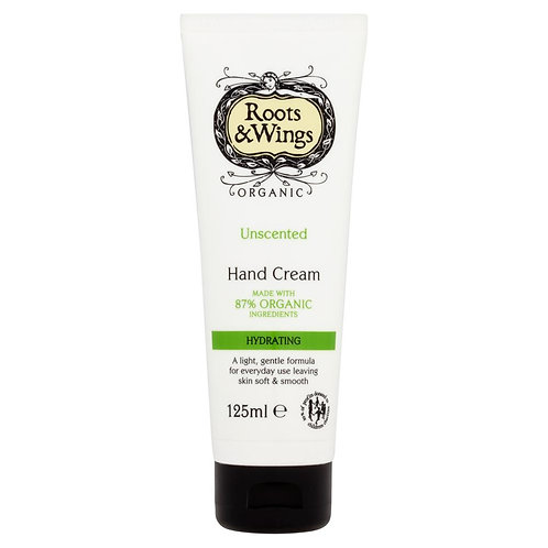 Roots & Wings Unscented Hand Cream Tube - 125ml