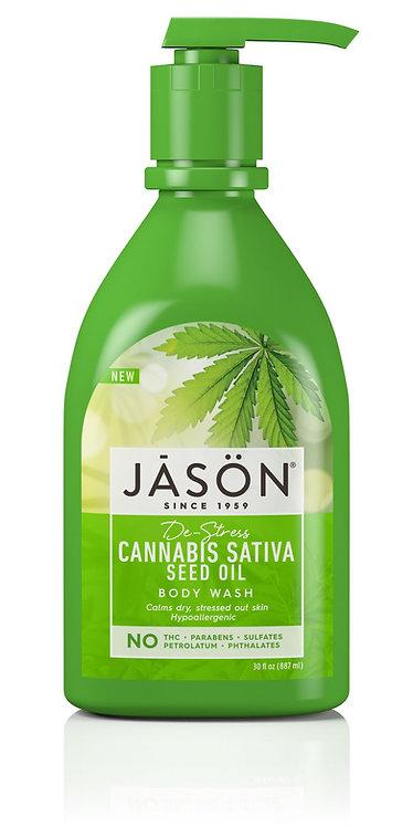 Jason Cannabis Sativa Seed Oil Body Wash