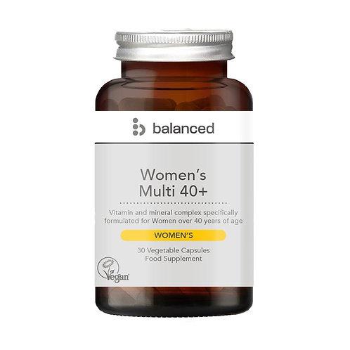 Balanced Women's 40+ Multi - 30 Veg Caps