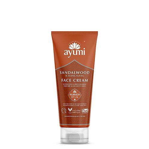 AyumiSandalwood & Cocoa Butter Face Cream - 100ml