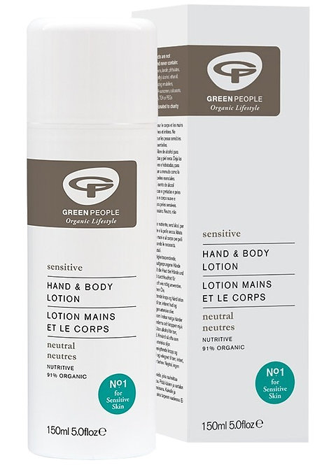 Green People Scent Free Hand & Body Lotion - 150ml