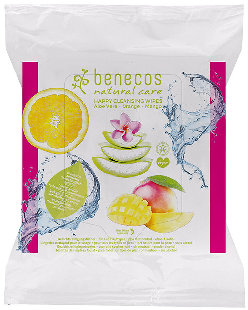 Benecos Facial Cleansing Wipes