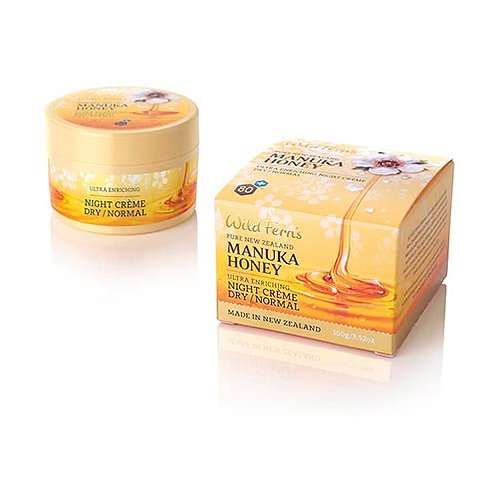 Wild Ferns Manuka Honey Ultra Enriching Night Crème Dry/Normal