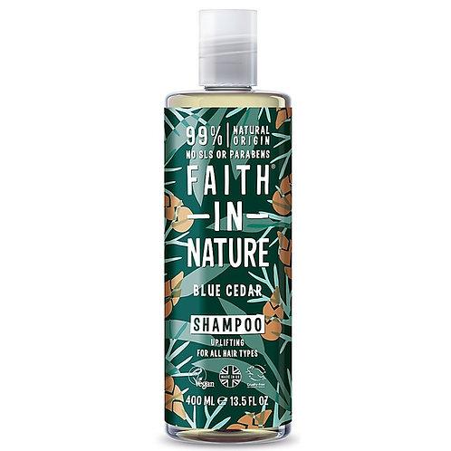 Faith in Nature Blue Cedar Shampoo - 400ml
