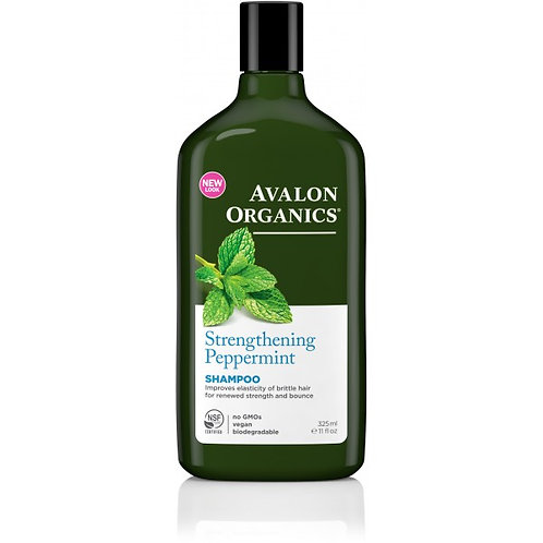 Avalon Organics Strengthening Peppermint Shampoo - 325ml