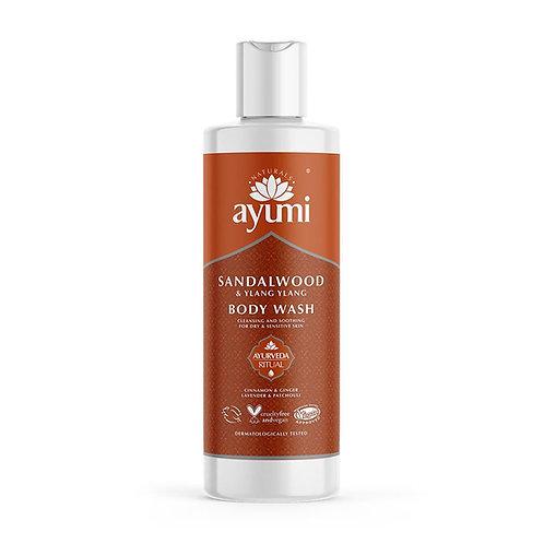 Ayumi Sandalwood & Ylang Ylang Body Wash - 250ml