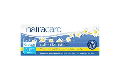 Natracare Super Non-Applicator Organic Cotton Tampons