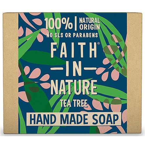 Faith in Nature Tea Tree Soap Bar - 100g
