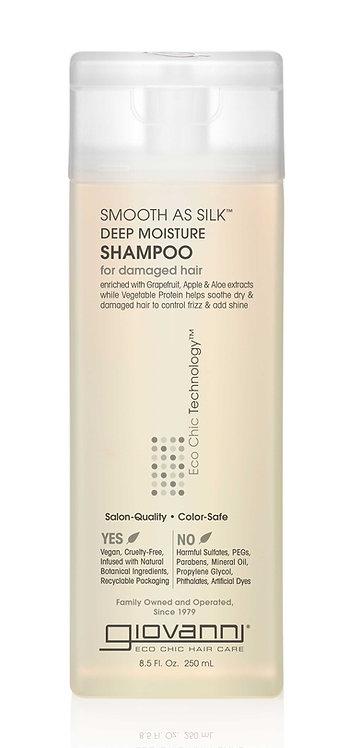 Giovanni Smooth As Silk Deep Moisture Shampoo - 250ml