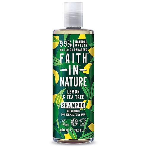 Faith in Nature Lemon & Tea Tree Shampoo - 400ml