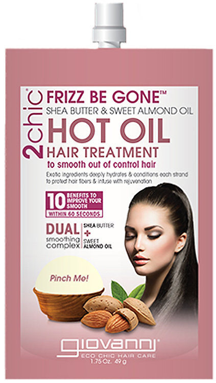 Giovanni Frizz Be Gone Hot Oil Hair Treatment