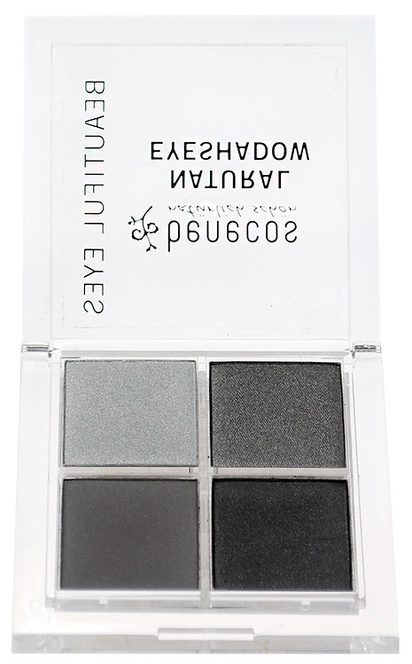 Benecos Quattro Eyeshadow - Smokey Eyes