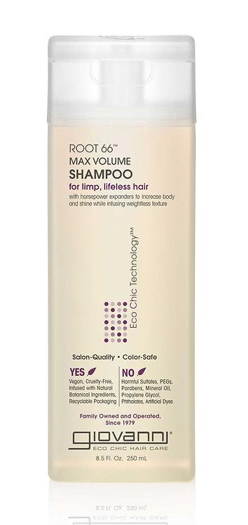 Giovanni Root 66 Max Volume Shampoo - 250ml