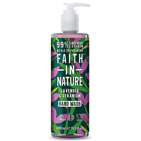 Faith in Nature Lavender & Geranium Hand Wash - 400ml