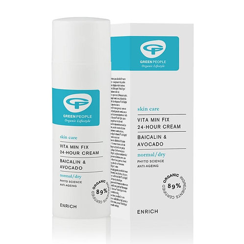Green People Vita Min Fix 24 Hour Cream - 50ml