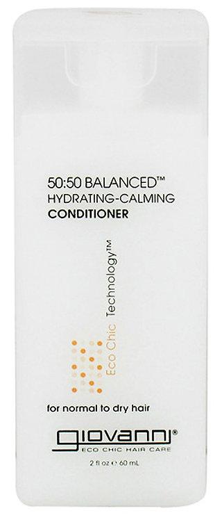 Giovanni 50:50 Balanced Hydrating Calming Conditioner - 60ml