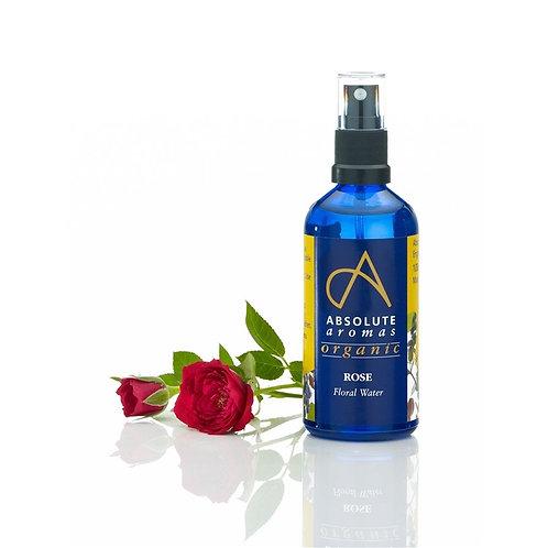 Absolute Aromas Organic Rose Floral Water -100ml