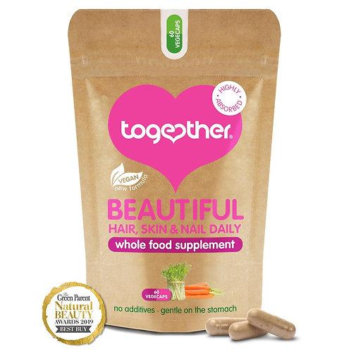 Together Beautiful Hair Skin Nails - 60 Veg Caps