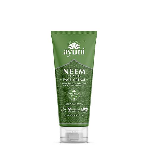 Ayumi Neem & Tea Tree Face Cream - 100ml