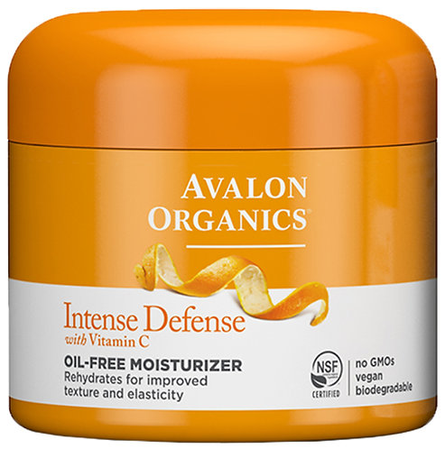 Avalon Organics Intense Defense  with Vitamin C  Oil Free Moisturiser