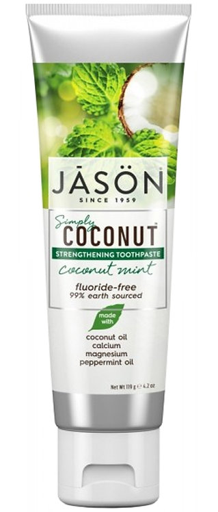 Jason Simply CoconutStrengthening Toothpaste Coconut Mint