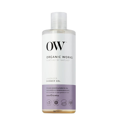 Organic Works Lavender Shower Gel