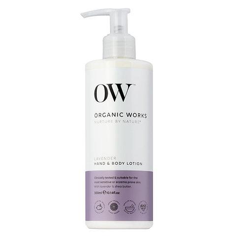 Organic WorksLavender Hand & Body Lotion