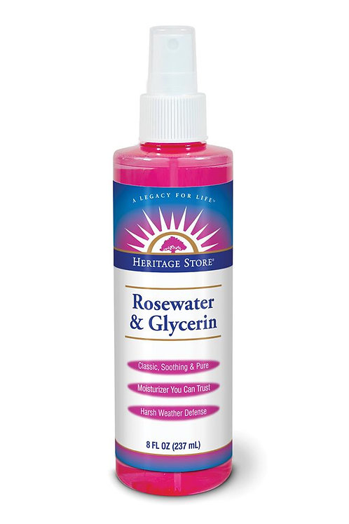 Heritage Store Rosewater & Glycerin - 237ml