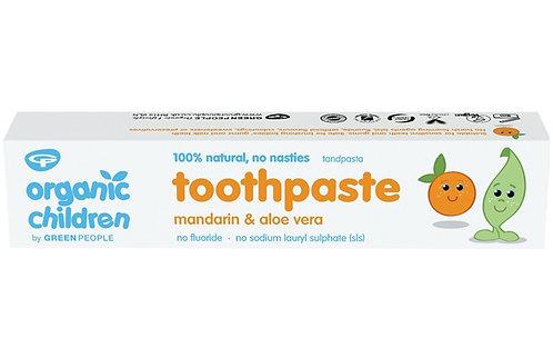 Green People Organic Children Mandarin & Aloe Vera Toothpaste