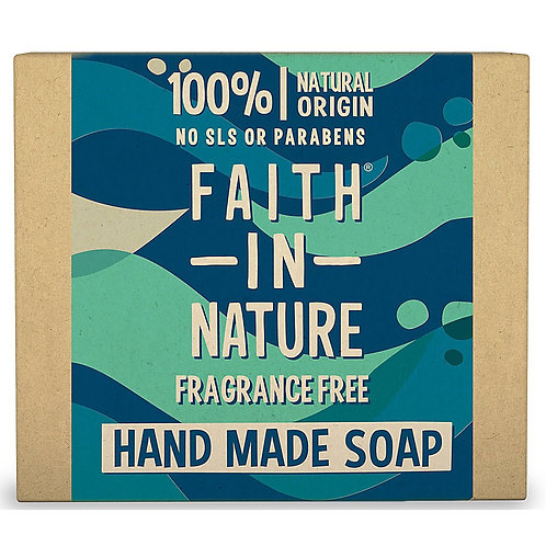 Faith in Nature Fragrance Free Soap Bar - 100g