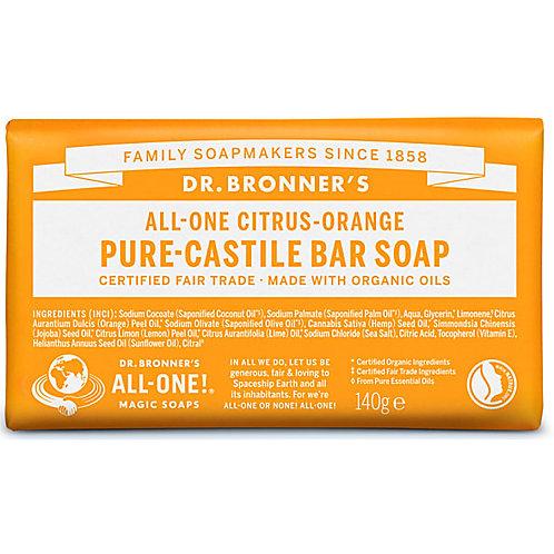 Dr Bronner's Pure Castile Bar Soap - Citrus