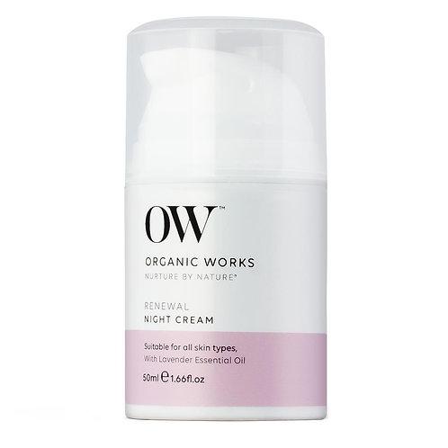 Organic WorksRenewal Night Cream
