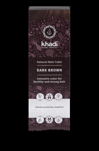 Khadi Natural Hair Colour Dark Brown