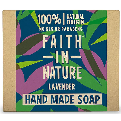 Faith in Nature Lavender Soap Bar - 100g
