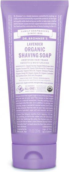 Dr Bronners Lavender Organic Shaving Soap