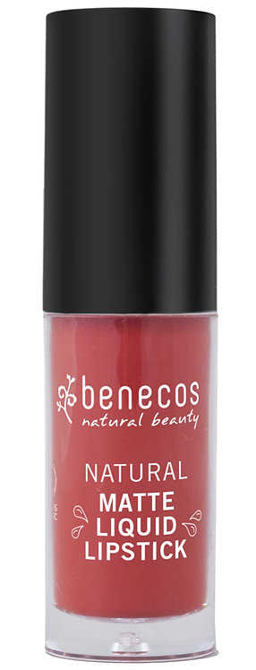 Benecos Natural Matte Liquid Lipstick - Trust in Rust