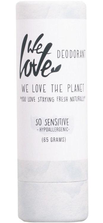 We Love the Planet Natural Deodorant Stick - Sensitive