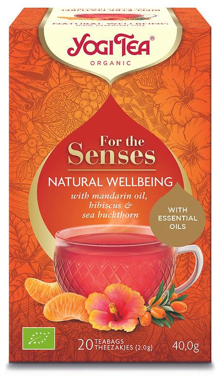 Yogi Tea For The Senses - Natural Wellbeing